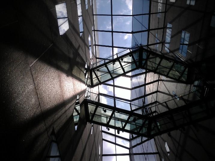 Skywalk, McNamara Alumni Center